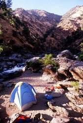 Camping on the Tuolumne